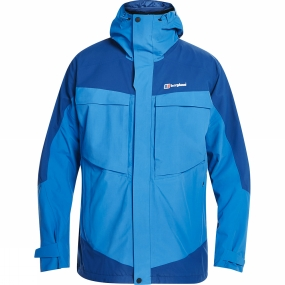 Berghaus Berghaus Mens Mera Peak 5.0 Jacket Snorkel Blue/Deep Water