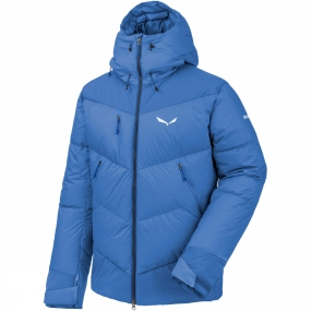Salewa Salewa Mens Ortles Heavy Down Jacket Royal Blue