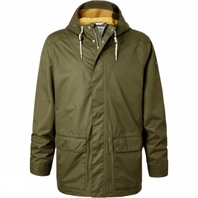 Craghoppers Craghoppers Mens Anson Jacket Dark Moss