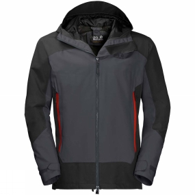 Jack Wolfskin Jack Wolfskin Mens North Slope Jacket Ebony
