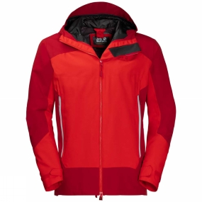 Jack Wolfskin Jack Wolfskin Mens North Slope Jacket Peak Red