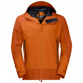Jack Wolfskin Jack Wolfskin Mens North Slope Jacket Desert Orange
