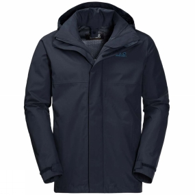 Jack Wolfskin Jack Wolfskin Mens Seven Peaks Jacket Night Blue