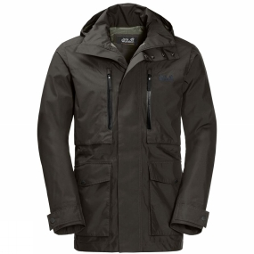 Jack Wolfskin Jack Wolfskin Mens Bridgeport Jacket Pinewood