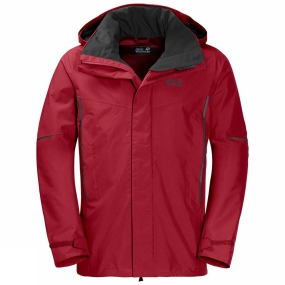 Jack Wolfskin Jack Wolfskin Mens Escalente Jacket Indian Red Xt