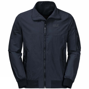 Jack Wolfskin Jack Wolfskin Mens Huntington Jacket Night Blue