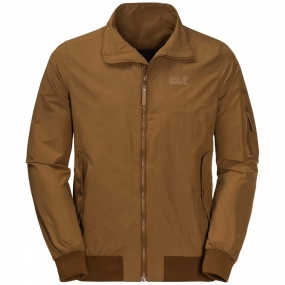 Jack Wolfskin Jack Wolfskin Mens Huntington Jacket Deer Brown