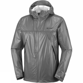 Columbia Columbia Mens OutDry Ex Eco Tech Shell Jacket Bamboo Charcoal
