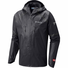 Columbia Columbia Mens OutDry Ex Featherweight Shell Jacket Black