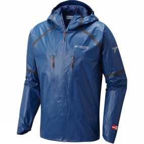 Columbia Columbia Mens OutDry Ex Featherweight Shell Jacket Carbon