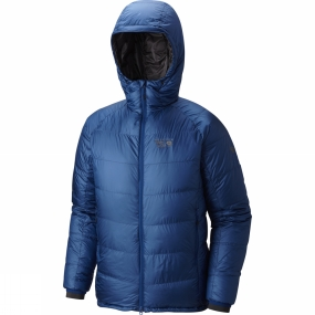 Mountain Hardwear Mountain Hardwear Men's Phantom Hooded Down Jacket Nightfall Blue