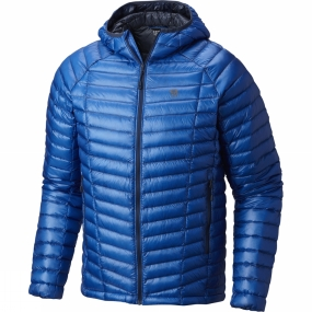Mountain Hardwear Mountain Hardwear Men's Ghost Whisperer Hooded Down Jacket Altitude Blue