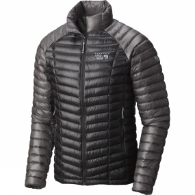 Mountain Hardwear Mountain Hardwear Men's Ghost Whisperer Down Jacket Shark/Manta Grey