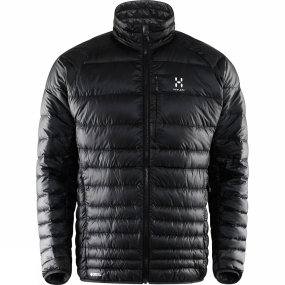 Haglofs Haglofs Mens Essens III Down Jacket True Black / Magnetite