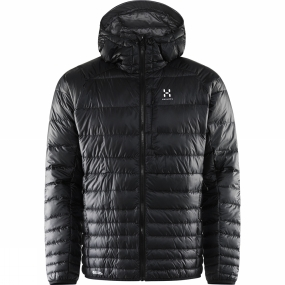 Haglofs Haglofs Mens Essens III Down Hood True Black / Magnetite