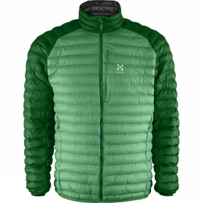 Haglofs Haglofs Mens Essens Mimic Jacket Ginko Green / Amazon Green
