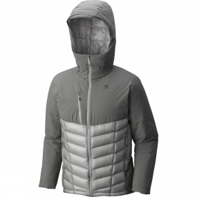 Mountain Hardwear Mountain Hardwear Mens Supercharger Insulated Jacket Manta Grey/Grey Ice
