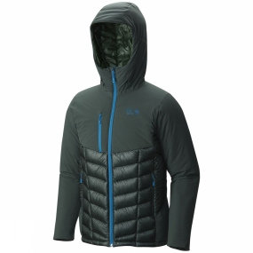 Mountain Hardwear Mountain Hardwear Mens Supercharger Insulated Jacket Dark Forest