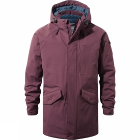 Craghoppers Craghoppers Mens 250 Jacket Red Wine