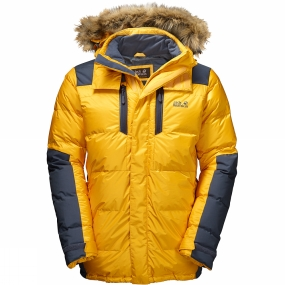 Jack Wolfskin Jack Wolfskin Mens The Cook Parka Burly Yellow Xt