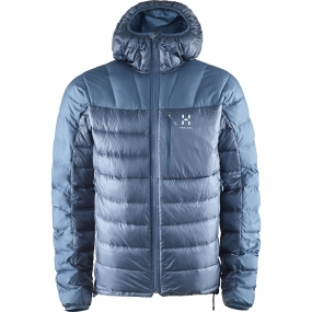 Haglofs Haglofs Mens Bivvy Down Hood Blue Ink