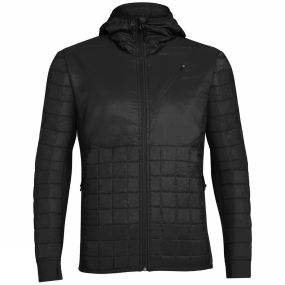 Men's Helix Long Sleeve Zip Hood