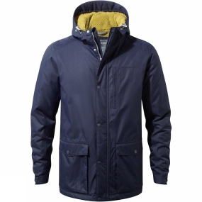 Craghoppers Craghoppers Mens Kiwi Classic Thermal Parka Jacket Blue Navy