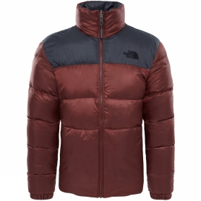 The North Face The North Face Mens Nuptse III Jacket Sequoia Red