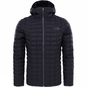 The North Face The North Face Mens ThermoBall Hoodie TNF Black Matte