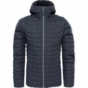 The North Face The North Face Mens ThermoBall Hoodie TNF Black Fusebox Grey