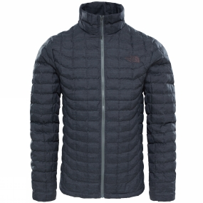 The North Face The North Face Mens Thermoball Full Zip Jacket TNF Black Fusebox Grey