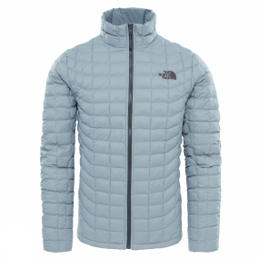 The North Face The North Face Mens Thermoball Full Zip Jacket Monument Grey Matte