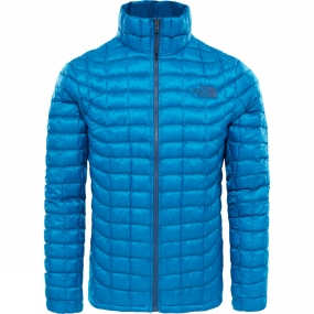 The North Face The North Face Mens Thermoball Full Zip Jacket Brilliant Blue