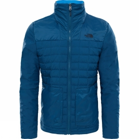 The North Face The North Face Mens Thermoball Zip-In Jacket Monterey Blue