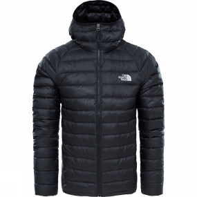 The North Face The North Face Mens Trevail Down Hoodie TNF Black TNF Black