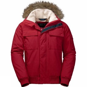 Jack Wolfskin Jack Wolfskin Mens Brockton Point Jacket Indian Red