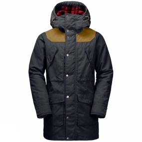 Jack Wolfskin Jack Wolfskin Mens Fort Williams Parka Night Blue