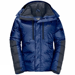 Jack Wolfskin Jack Wolfskin Mens The Cook Jacket Royal Blue