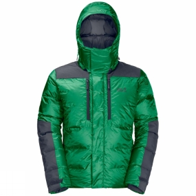 Jack Wolfskin Jack Wolfskin Mens The Cook Jacket Forest Green
