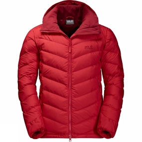 Jack Wolfskin Jack Wolfskin Mens Fairmont Jacket Ruby Red