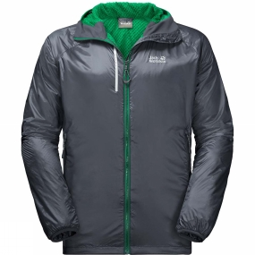 Jack Wolfskin Jack Wolfskin Mens Air Lock Jacket Ebony