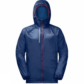 Jack Wolfskin Jack Wolfskin Mens Air Lock Jacket Royal Blue
