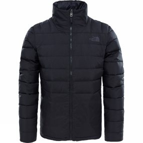 The North Face The North Face Zip In Down Full Zip Jacket TNF Black