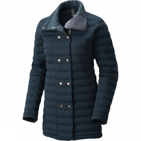 Mountain Hardwear Mountain Hardwear Womens StretchDown Coat Blue Spruce