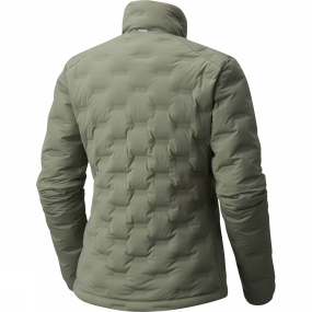 Mountain Hardwear Mountain Hardwear Womens StretchDown DS Jacket Green Fade