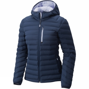 Mountain Hardwear Mountain Hardwear Womens StretchDown Hooded Jacket Zinc