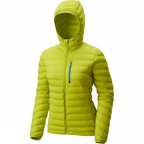 Mountain Hardwear Mountain Hardwear Womens StretchDown Hooded Jacket Fresh Bud