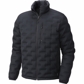 Mountain Hardwear Mountain Hardwear Mens StretchDown DS Jacket Black