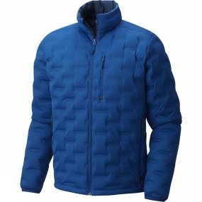 Mountain Hardwear Mountain Hardwear Mens StretchDown DS Jacket Nightfall Blue