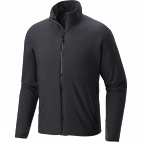 Mountain Hardwear Mountain Hardwear Mens ATherm Jacket Shark